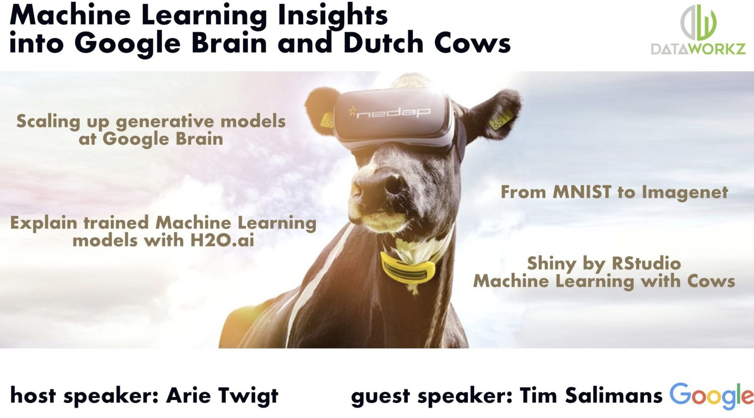 Machine Learning Insights into Google Brain and Dutch Cows